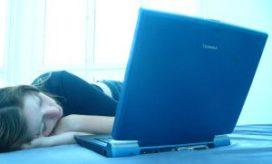Slaaptekort door werk