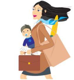 Kijk op werk verandert het meest door kinderen