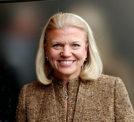 Vrouw neemt roer over bij IBM