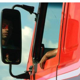 Gestreste trucker krijgt steun van Inspectie