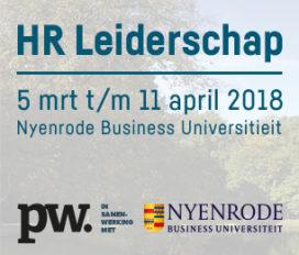 5 maart t/m 11 april | HR Leiderschap