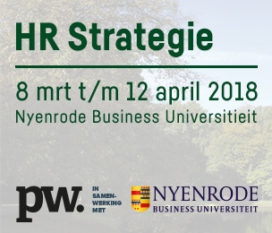 8 maart t/m 12 april | HR Strategie