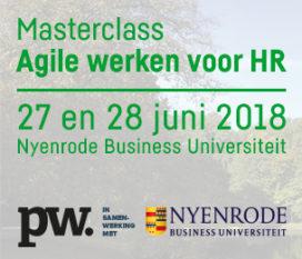 27 & 28 juni   Masterclass Agile werken voor HR